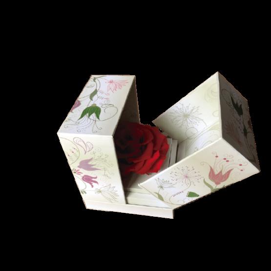 rosa eterna en caja