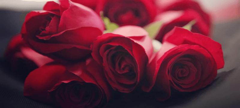 cuánto cuesta un ramo de rosas