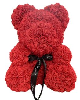 comprar oso de rosas