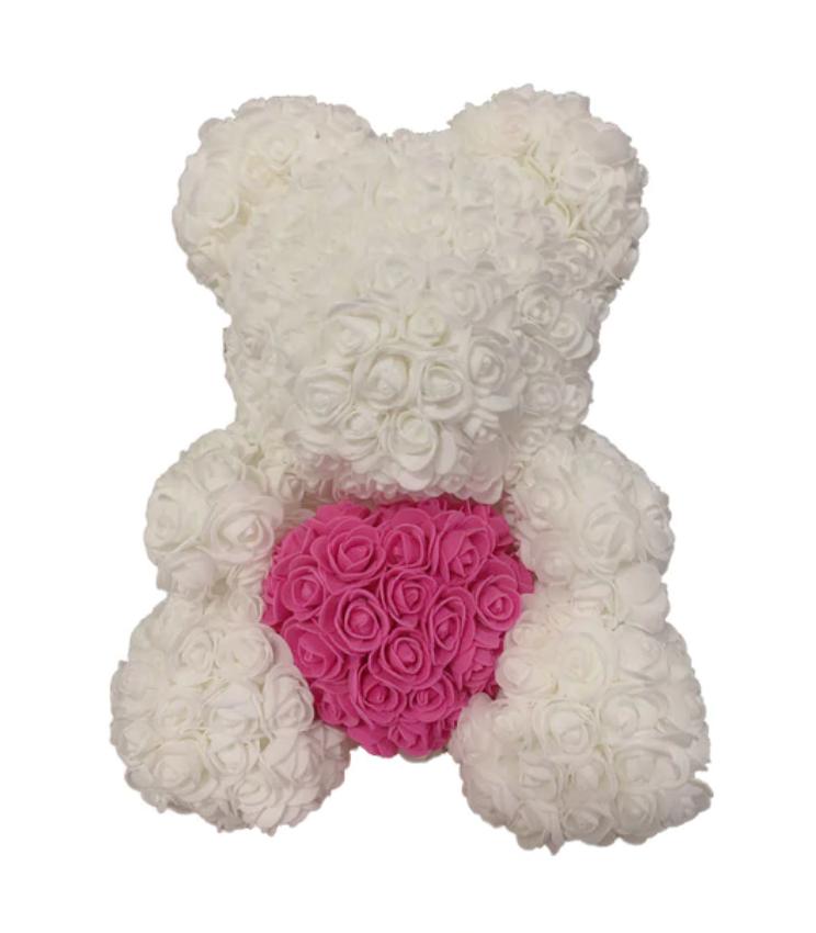 oso de rosas san valentin