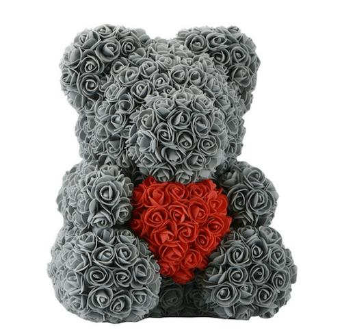 oso de rosas