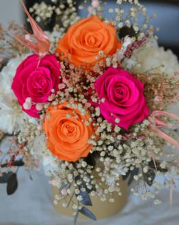 ramo rosas eternas