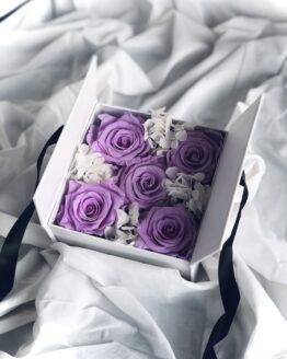 caja rosas eternas