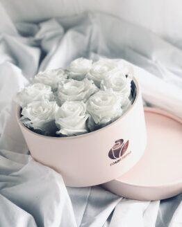 caja rosas preservadas
